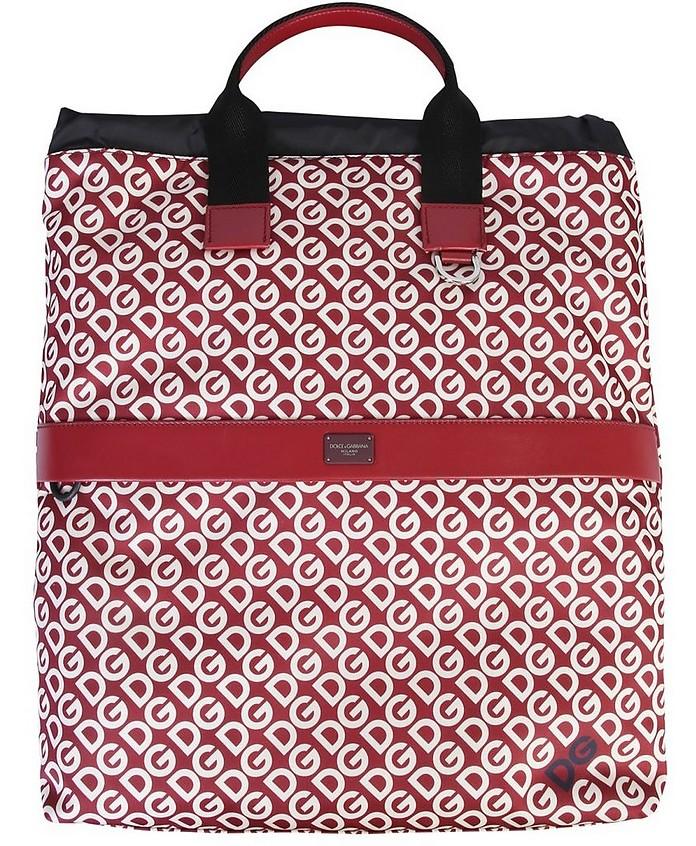 Dg Logo Printed Backpack - Dolce & Gabbana