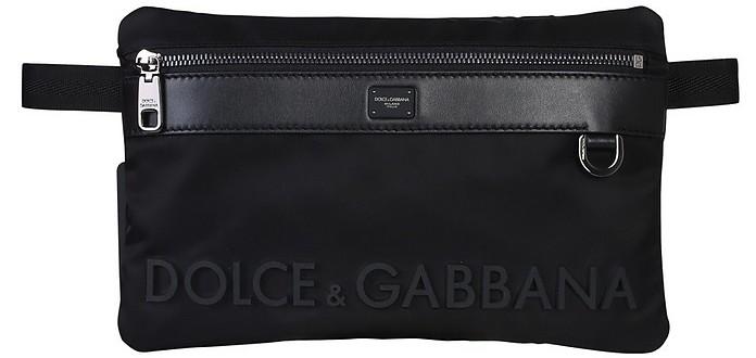 Black Sicily Dna Belt Bag - Dolce & Gabbana