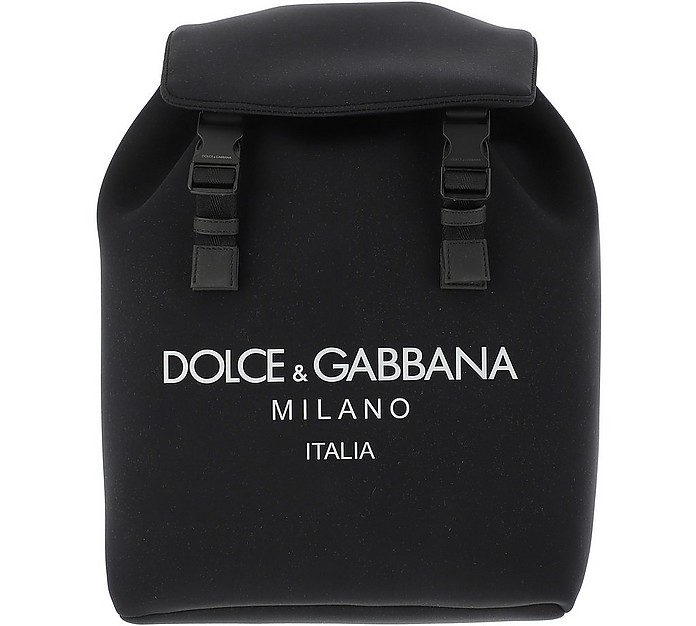 Black And Grey backpack - Dolce & Gabbana