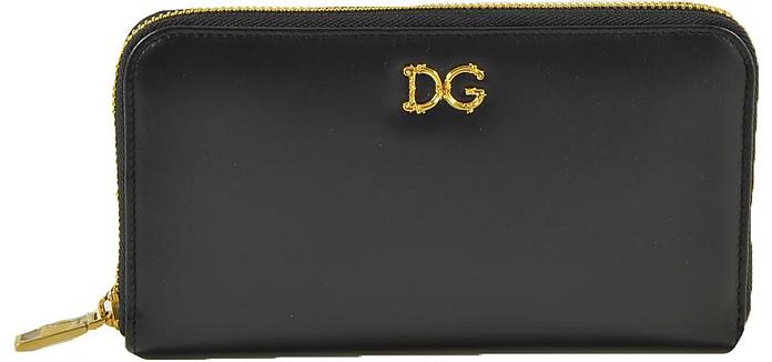 Women's Black Wallet - Dolce & Gabbana