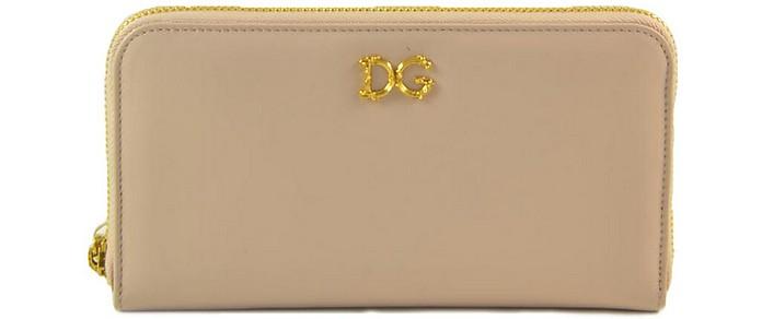 Women's Pink Wallet - Dolce & Gabbana