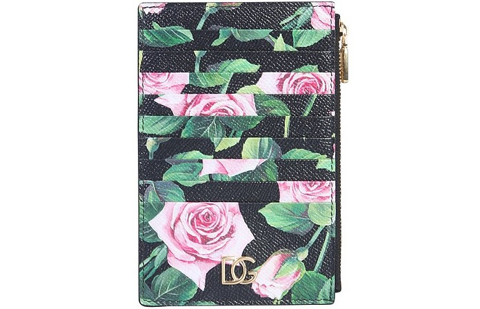 Vertical Credit Card Holder - Dolce & Gabbana