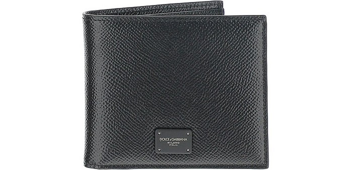 Dauphine Leather Wallet - Dolce & Gabbana