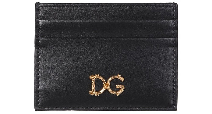 Leather Card Holder - Dolce & Gabbana / ドルチェ&ガッバーナ