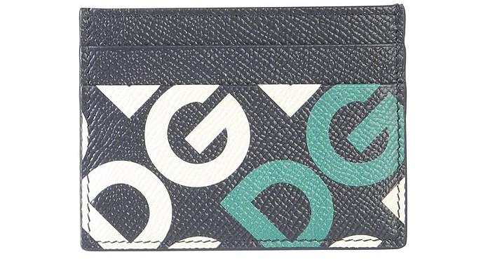 Leather Card Holder - Dolce & Gabbana