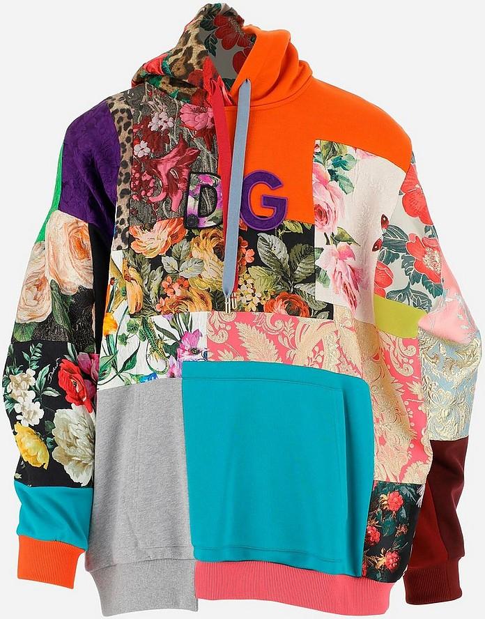 Patchwork Women's Hoodie - Dolce & Gabbana