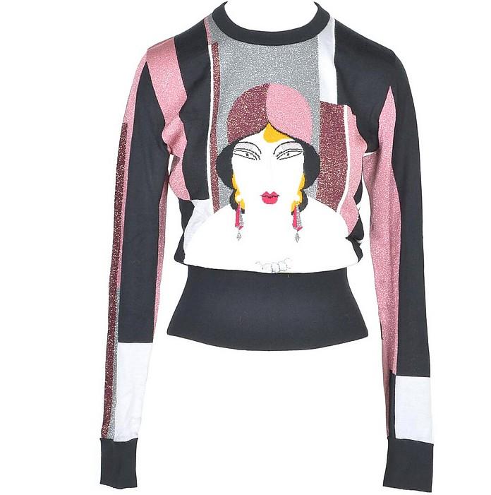 Women's Fantasy Print Sweater - Dolce & Gabbana / ドルチェ&ガッバーナ
