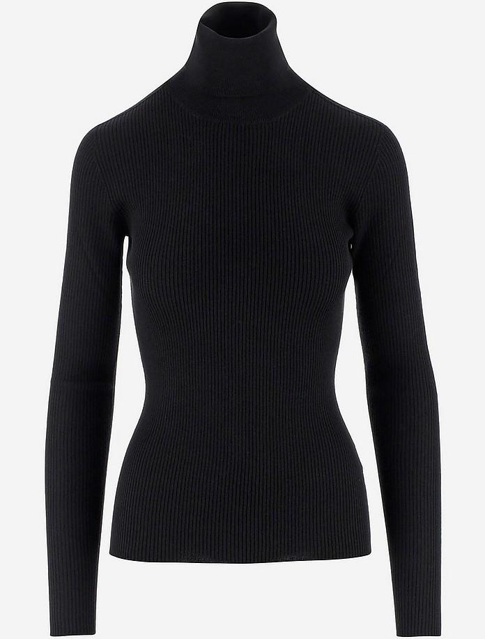 Pure Wool Women's Turtleneck Sweater - Dolce & Gabbana