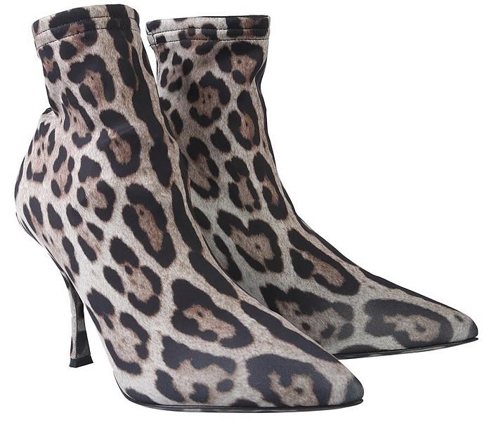 Leo Printed Boot - Dolce & Gabbana