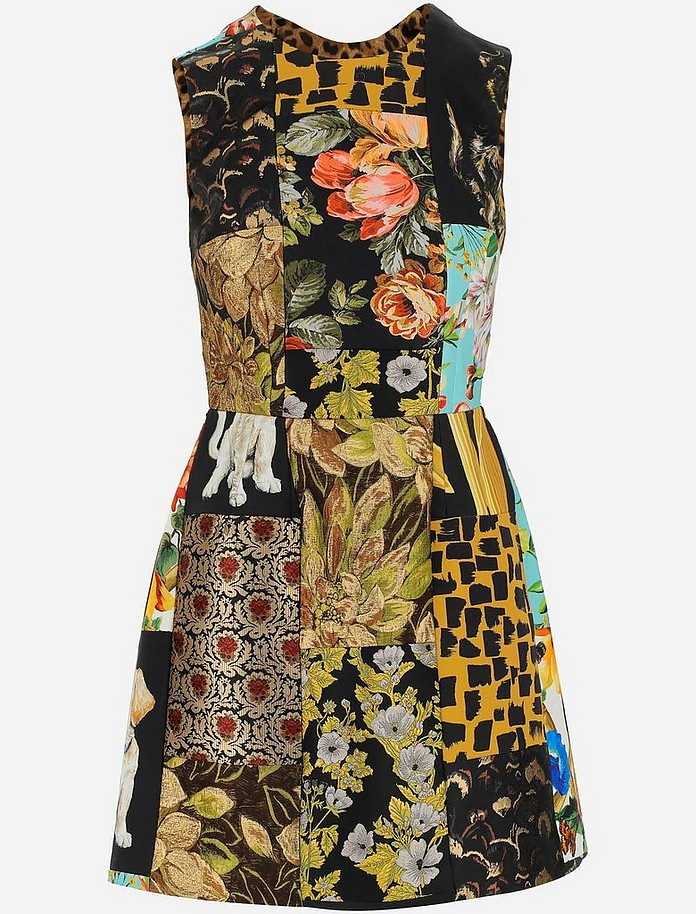 Women's Kneelenght_Dress - Dolce & Gabbana