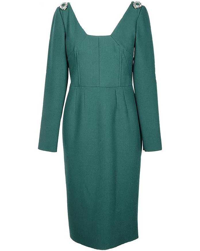 Women's Green Dress - Dolce & Gabbana / ドルチェ&ガッバーナ