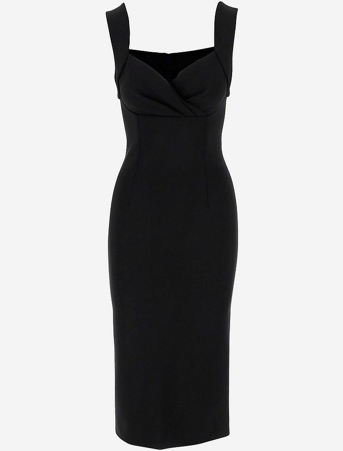 Black Sleevless Women's Dress - Dolce & Gabbana