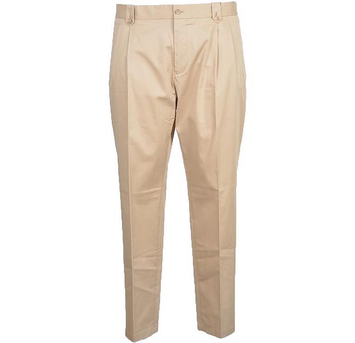 Men's Beige Pants - Dolce & Gabbana