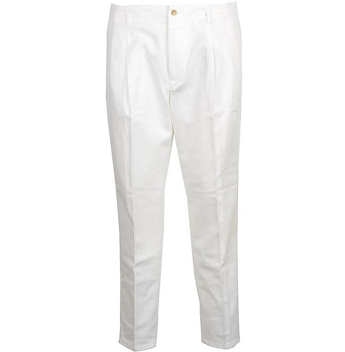 Men's White Pants - Dolce & Gabbana / ドルチェ&ガッバーナ