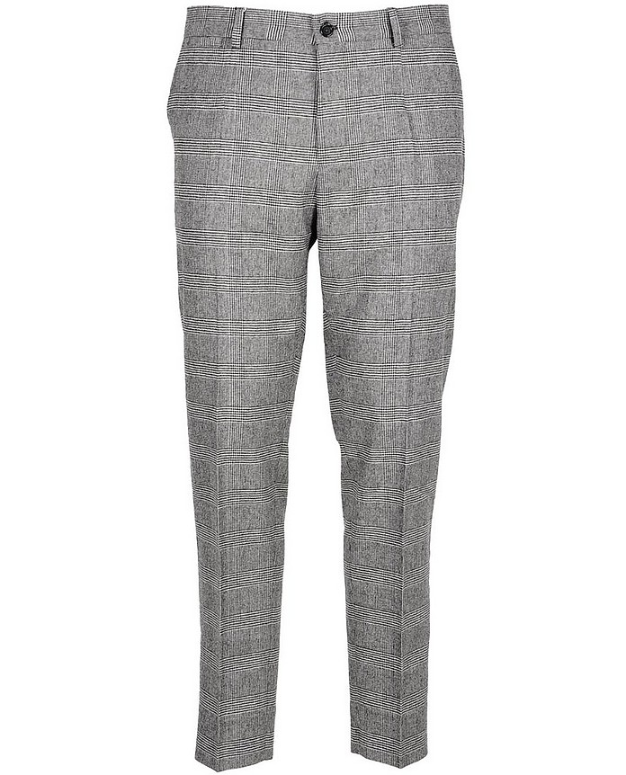 Men's Black / Gray Pants - Dolce & Gabbana