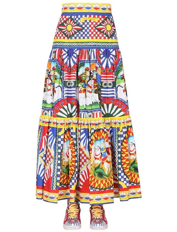 Flounce Skirt - Dolce & Gabbana