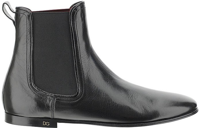 Black And Grey Ankle Boots - Dolce & Gabbana