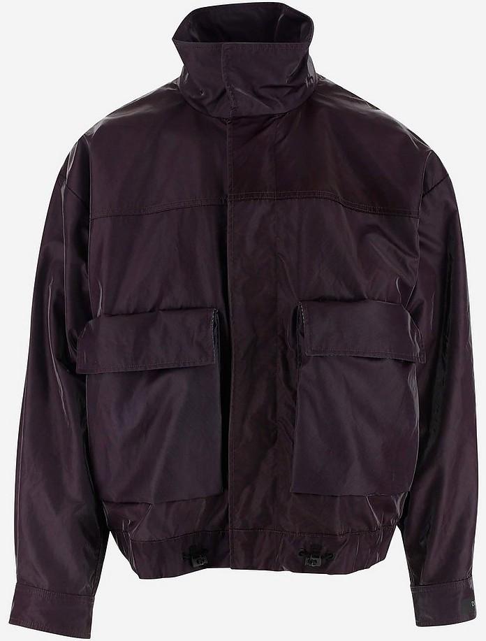 Coated Nylon Men's Jacket - Dolce & Gabbana
