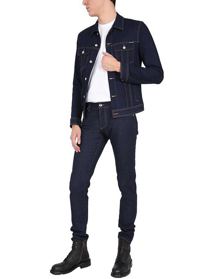 Stretch Denim Jacket - Dolce & Gabbana