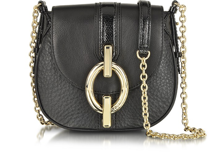 Sutra Mini Leather Crossbody Bag - Diane Von Furstenberg