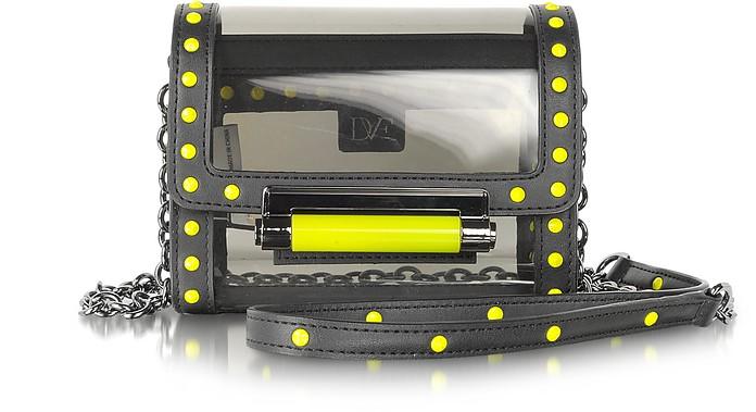 440 Micro Mini PVC Crossbody Bag - Diane Von Furstenberg