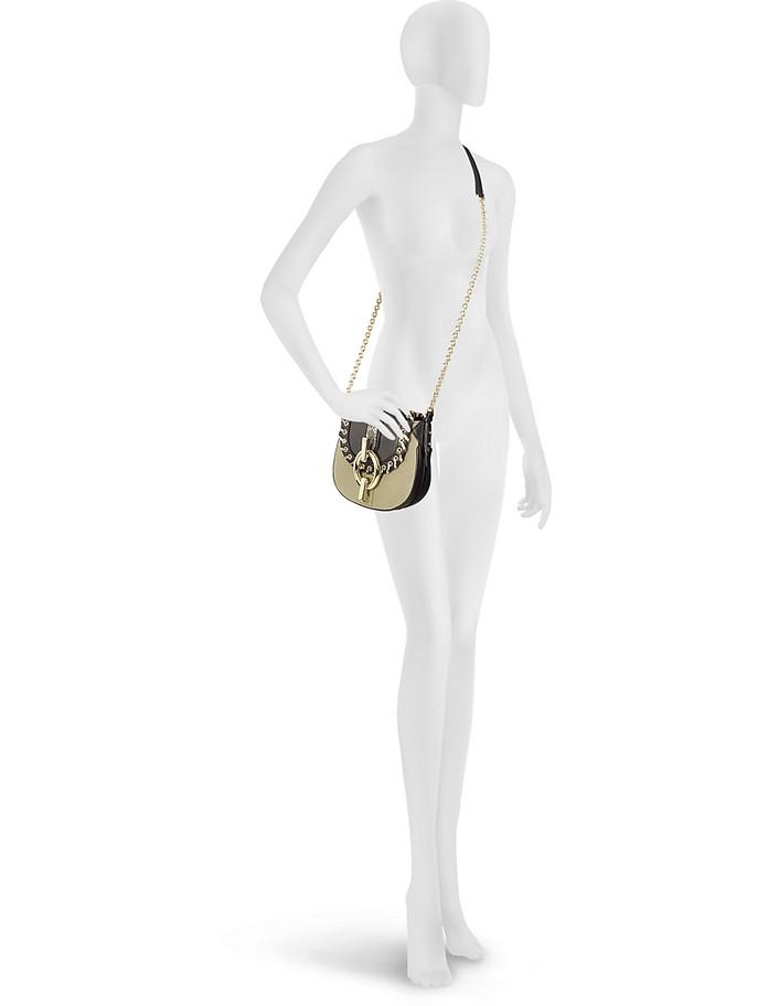 76c294a7bf46 Diane Von Furstenberg Sutra Mini Laced Canvas Crossbody Bag at FORZIERI