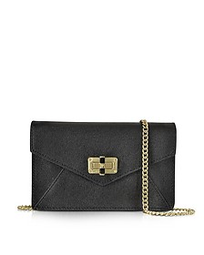 440 Gallery Bitsy Caviar Leather Mini Bag - Diane Von Furstenberg