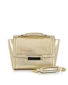 440 Mini Metallic Embossed Lizard Crossbody Bag