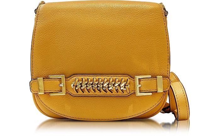 Iggy Leather Saddle Bag - Diane Von Furstenberg
