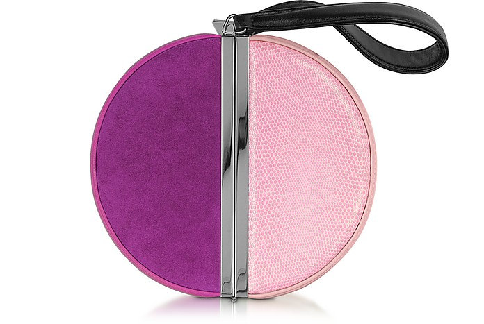 Color Block Circle Box Clutch - Diane Von Furstenberg