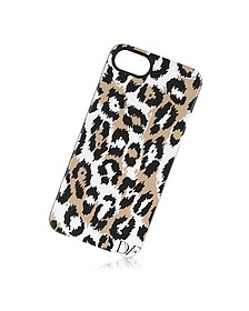 iPhone 5 Case in Leopard Brown & Black