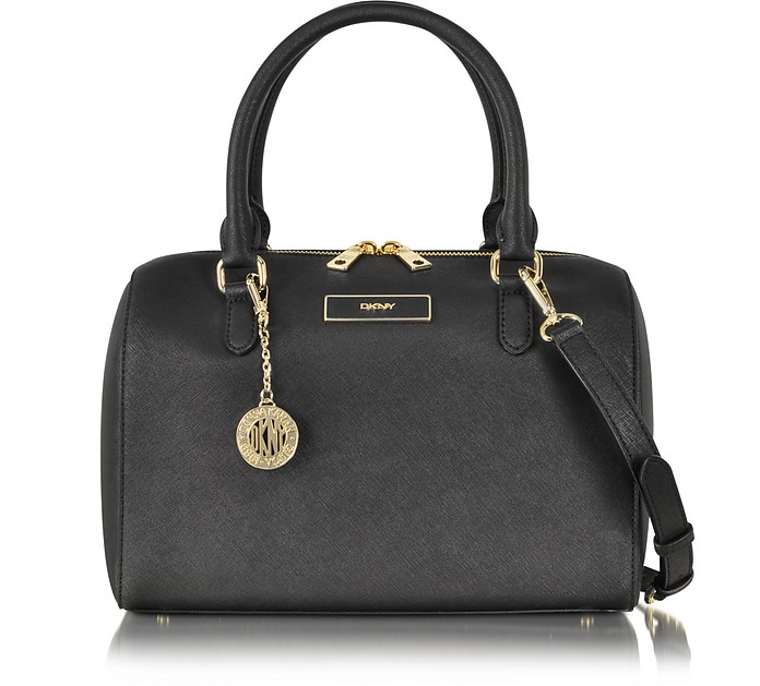 Bryant Park Saffiano Leather Satchel Bag - DKNY