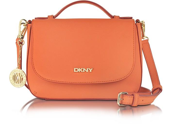 Bryant Park Saffiano Leather Top Handle Crossbody - DKNY