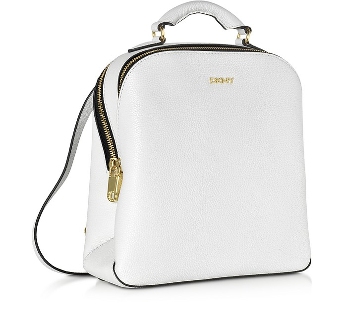 5edf22928 White Fine Pebble Leather Mini Backpack - DKNY. kr 1,825 kr 3,650 Actual  transaction amount