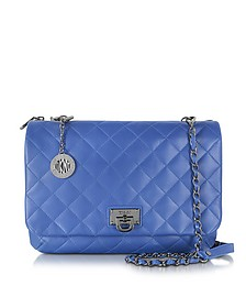 Gansevoort Quilted Nappa Large Clutch w/Detachable Chain Strap