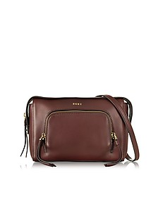 Greenwich Leather Crossbody - DKNY