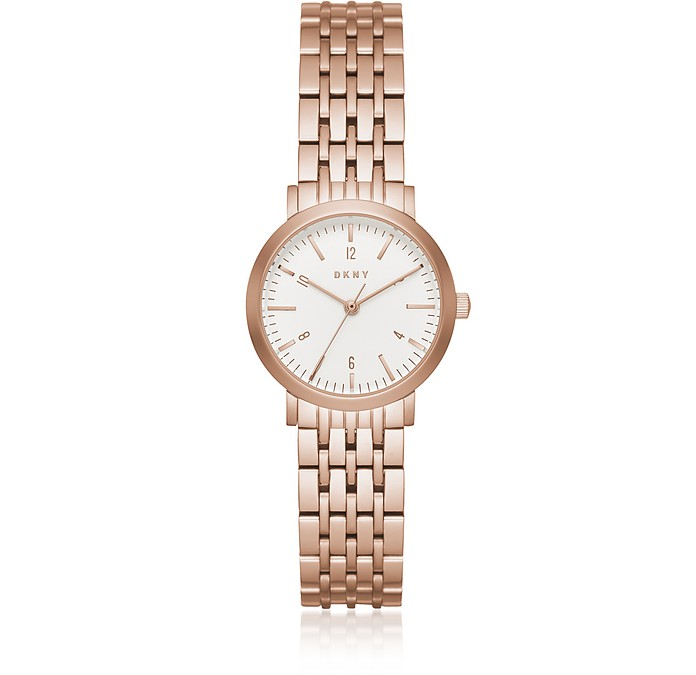 Minetta 28mm Rose Gold Tone Women's Watch - DKNY