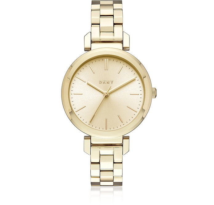 Ellington Gold Tone Women's Watch - DKNY