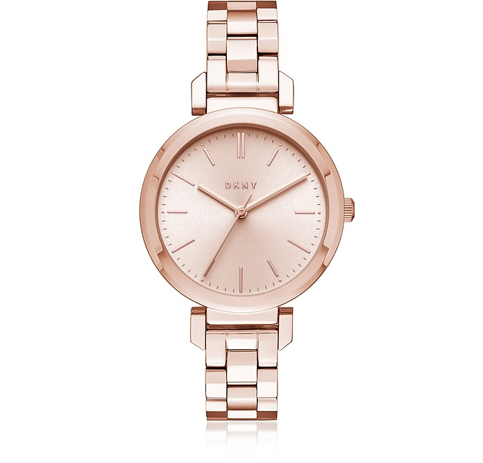 Ellington Rose Gold Tone Women's Watch - DKNY