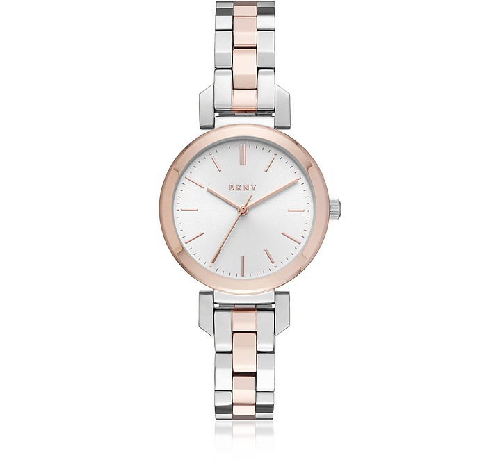 Ellington 28mm Two-Tone Women's Watch - DKNY
