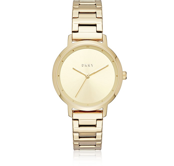 The Modernist Gold Tone Women's Watch - DKNY