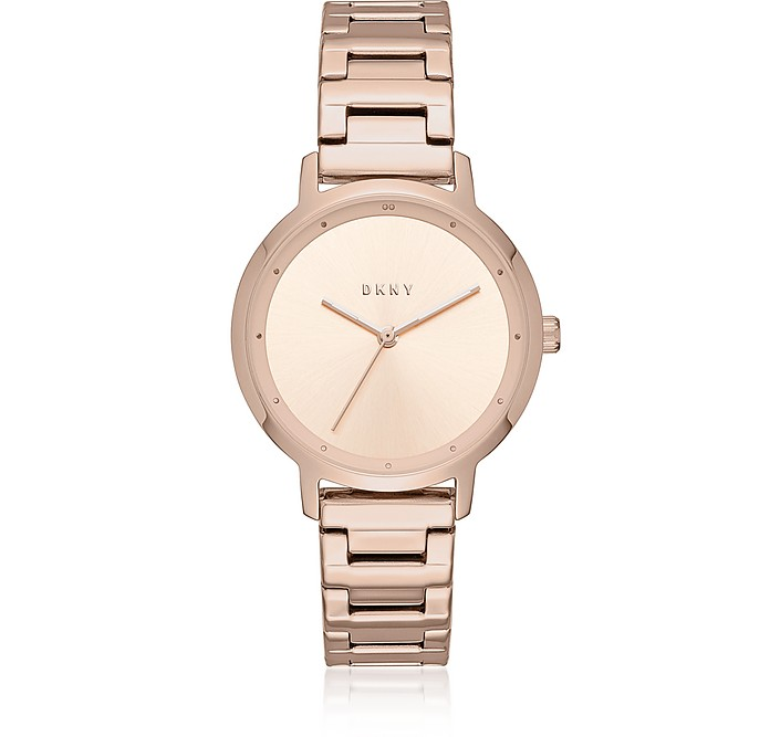 The Modernist Rose Gold Tone Women's Watch - DKNY