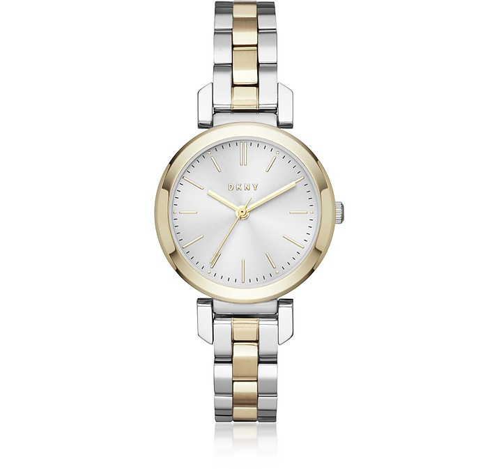 Ellington 28mm Two Tone Women's Watch - DKNY