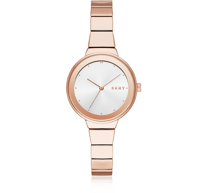 Astoria Rose Gold Tone Women's Watch - DKNY