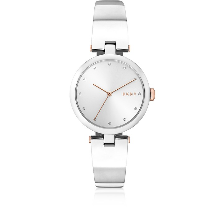 Eastside Silver Tone Bangle Women's Watch - DKNY