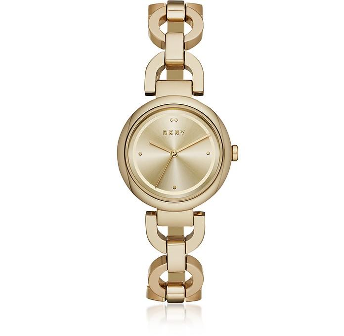Eastside Gold Tone Stainless Steel Bracelet Watch - DKNY