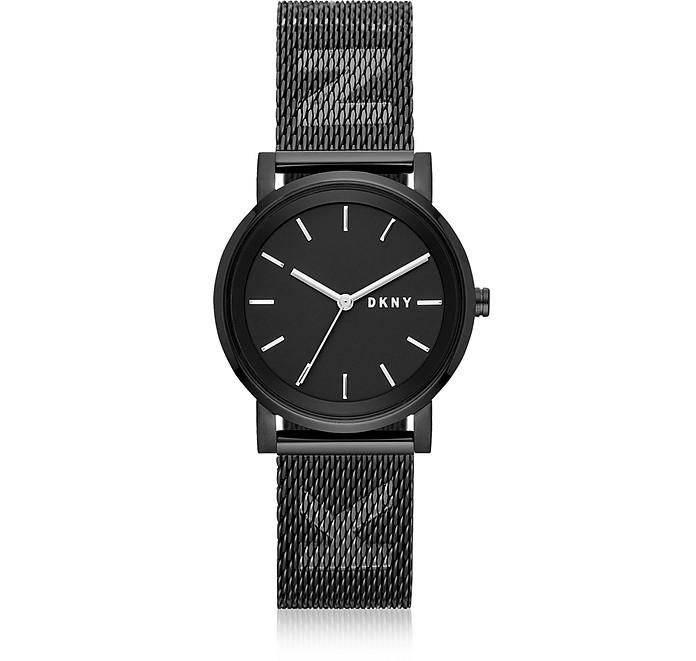 Soho Black Mesh Watch - DKNY