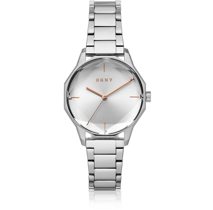 Cityspire - Круглый Часы из Нержавеющей Стали - DKNY