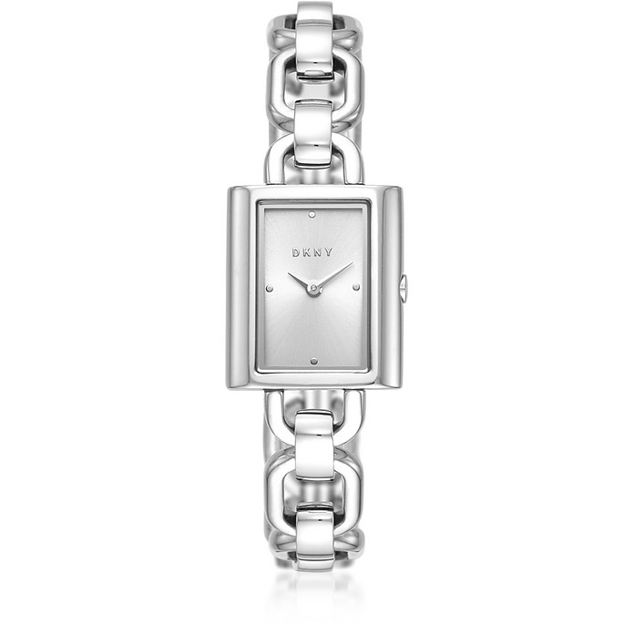 Uptown Stainless Steel Chain Watch - DKNY