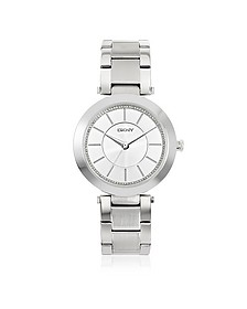 Stanhope Silver Tone Stainless Steel Women's Watch - DKNY